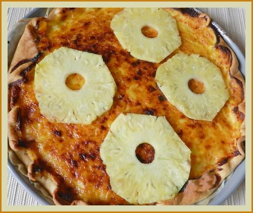 Tarte à l'ananas Mercre10