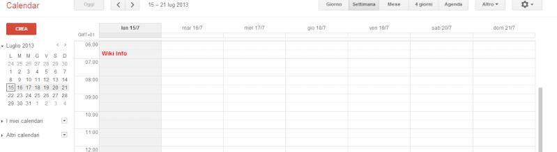 Gestire un calendario online gratuito - Google Calendar 2z3nhg10