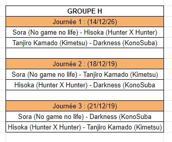 [MF Tournament] Groupes et calendrier Calh10