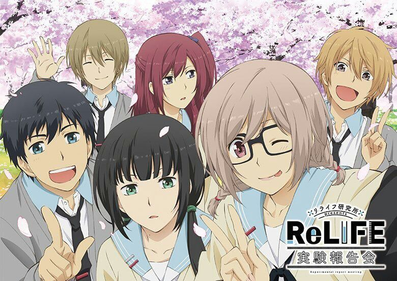 10 ans d'anime [2010-2019] Relife10