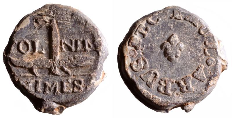 Les plombs de soyeux de Nîmes. D229010