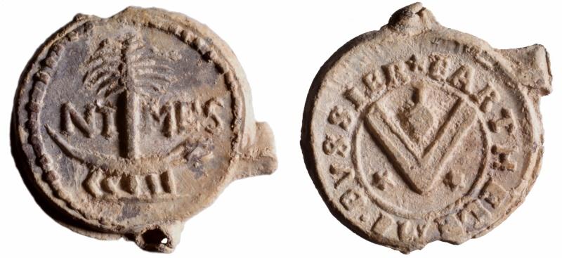 Les plombs de soyeux de Nîmes. D231010