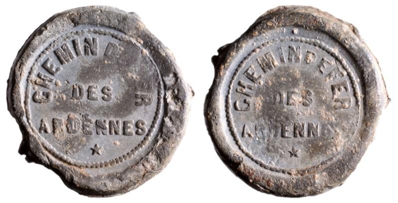 j) Compagnie du chemin de fer des Ardennes 1857-1863 D239310