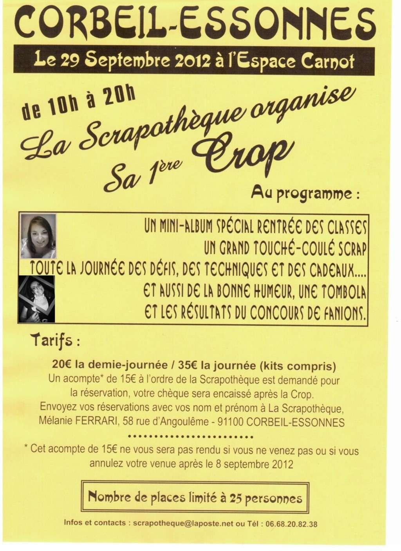 91-CORBEIL ESSONNES- La Scrapothèque Affich10