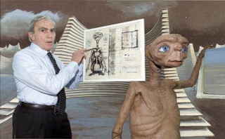 film - cinéma - E.T. l'extraterrestre - décès de Carlo Rambaldi - aout 2012 - Drew Barrymore