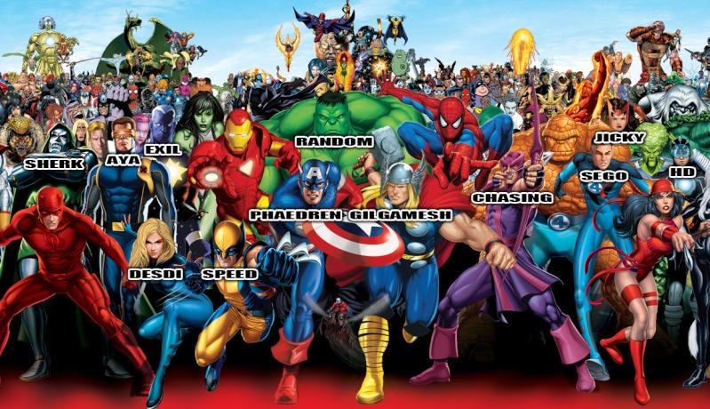 Duos en photo Marvel10