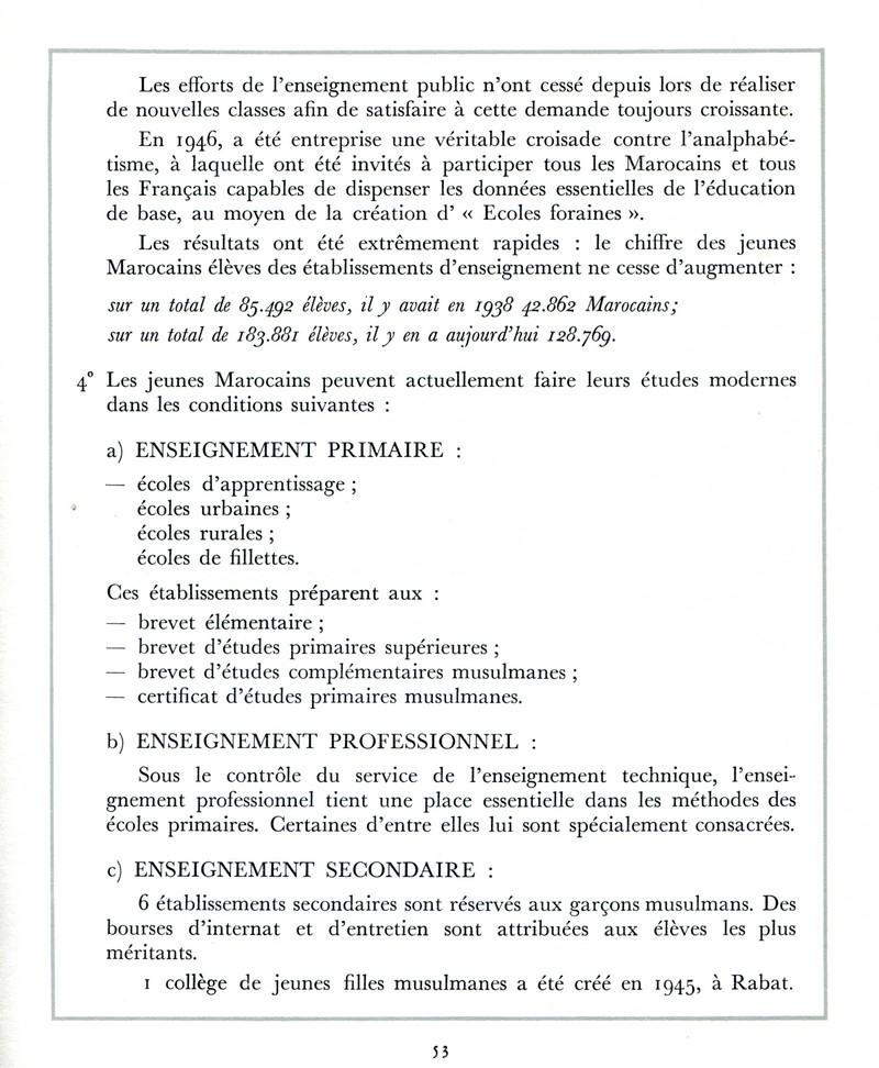 L'Oeuvre de la France au Maroc de 1912 à 1950. - Page 2 Maroc256