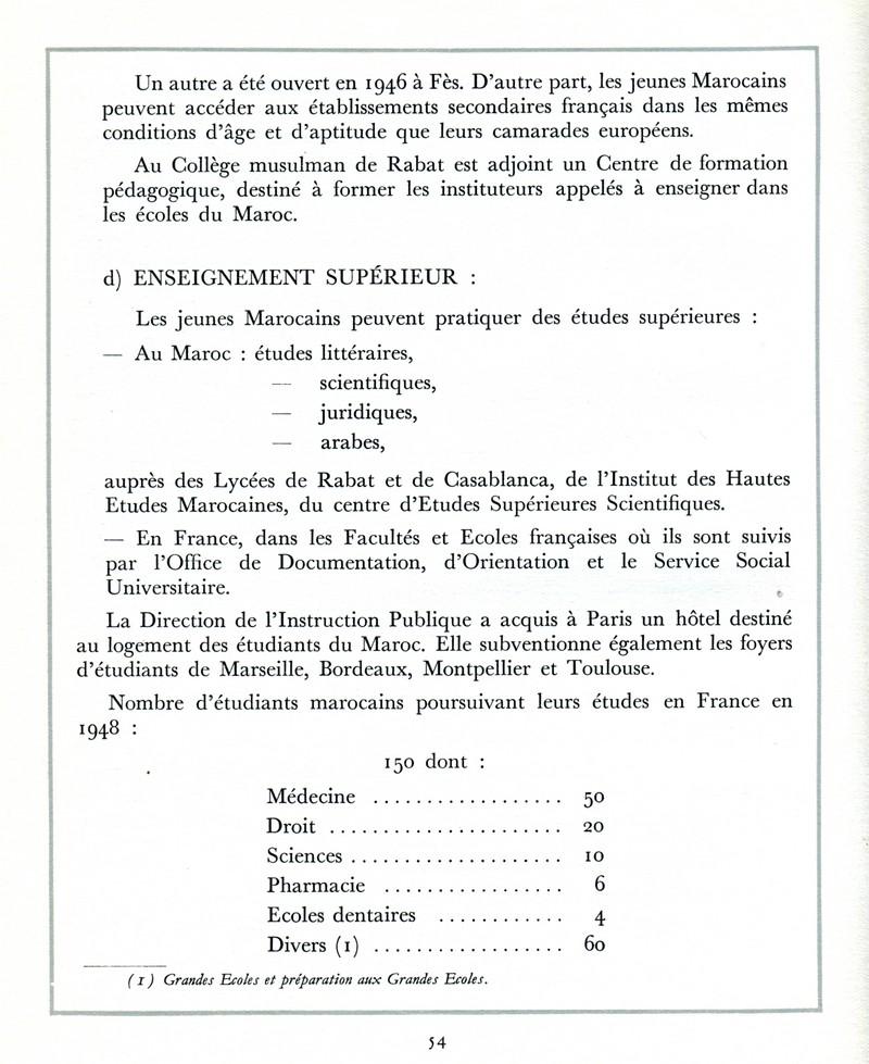 L'Oeuvre de la France au Maroc de 1912 à 1950. - Page 2 Maroc257