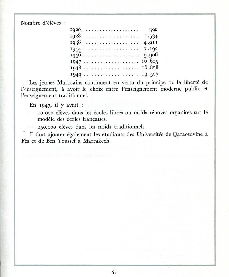 L'Oeuvre de la France au Maroc de 1912 à 1950. - Page 3 Maroc264