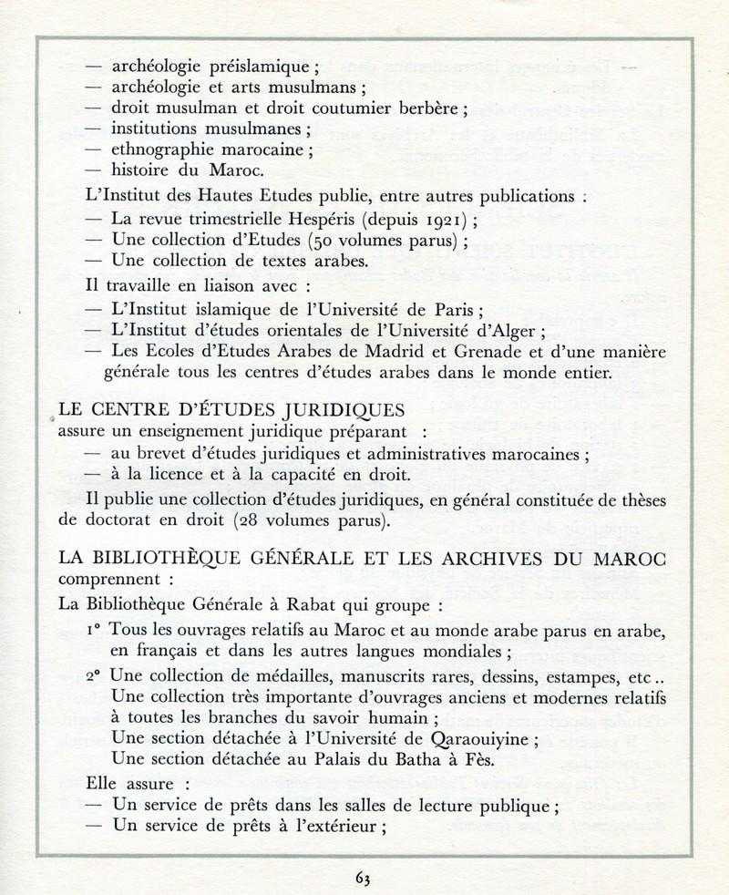 L'Oeuvre de la France au Maroc de 1912 à 1950. - Page 3 Maroc266