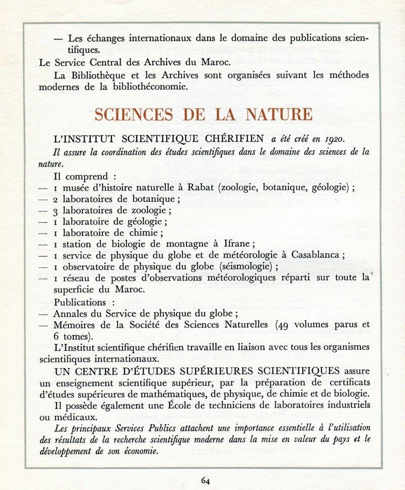 L'Oeuvre de la France au Maroc de 1912 à 1950. - Page 3 Maroc267