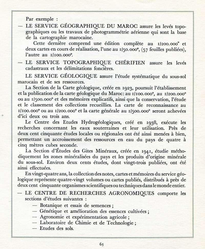 L'Oeuvre de la France au Maroc de 1912 à 1950. - Page 3 Maroc268