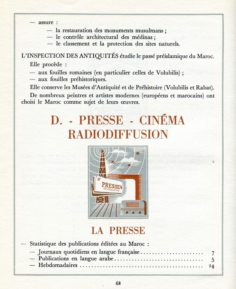 L'Oeuvre de la France au Maroc de 1912 à 1950. - Page 3 Maroc271