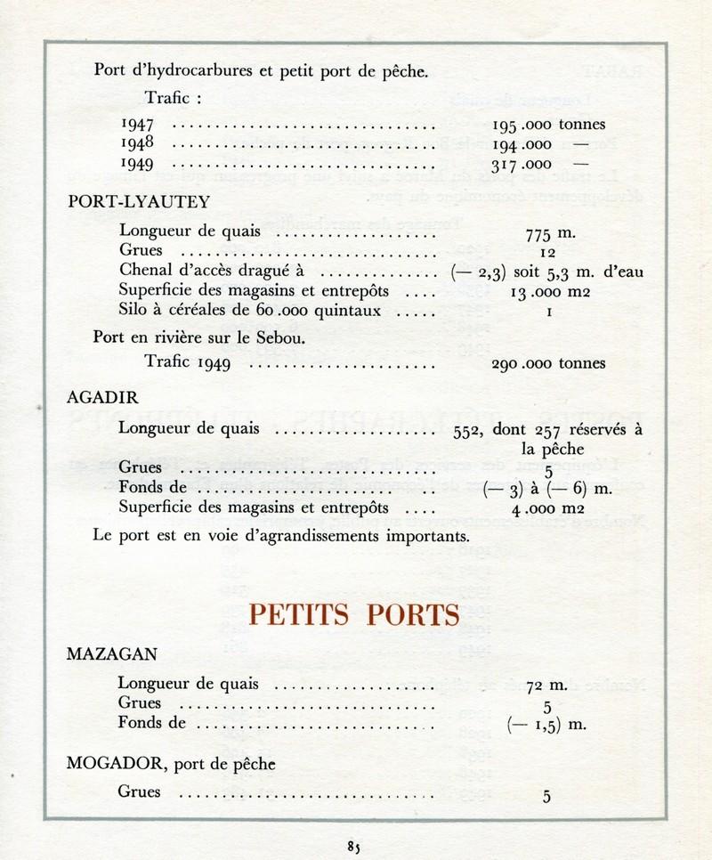 L'Oeuvre de la France au Maroc de 1912 à 1950. - Page 4 Maroc289