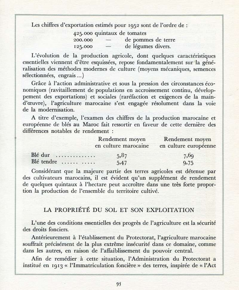 L'Oeuvre de la France au Maroc de 1912 à 1950. - Page 4 Maroc299