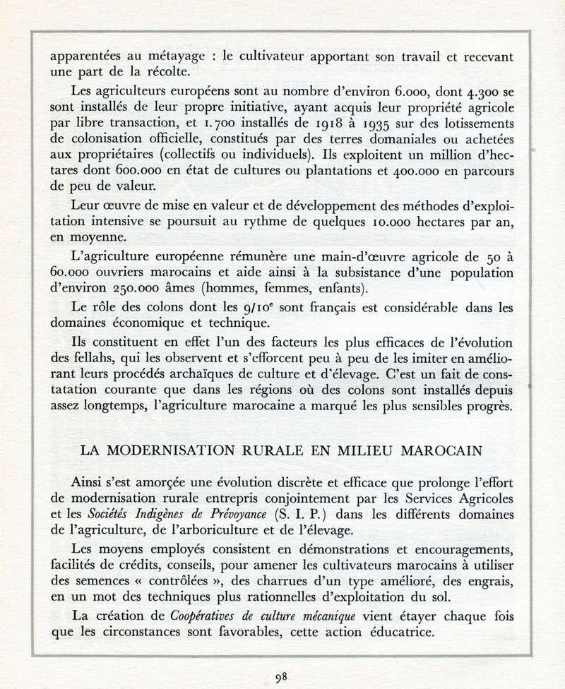 L'Oeuvre de la France au Maroc de 1912 à 1950. - Page 4 Maroc302