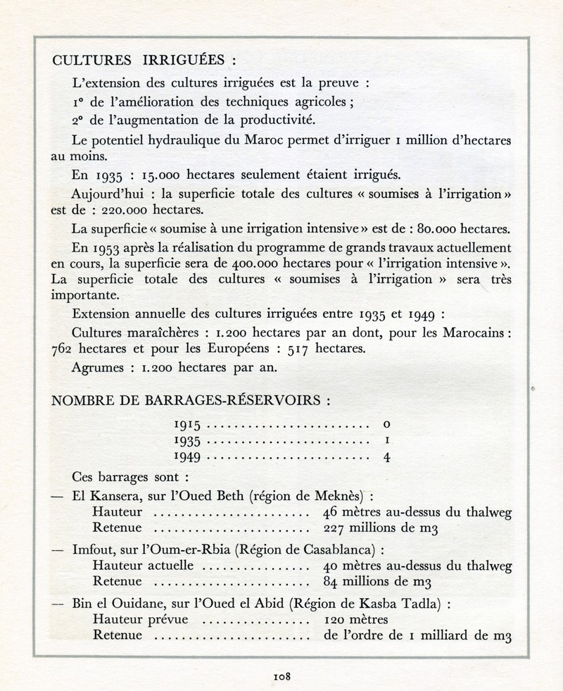 L'Oeuvre de la France au Maroc de 1912 à 1950. - Page 5 Maroc312