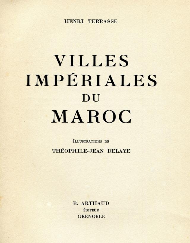 MAROC Villes Impériales Maroc338