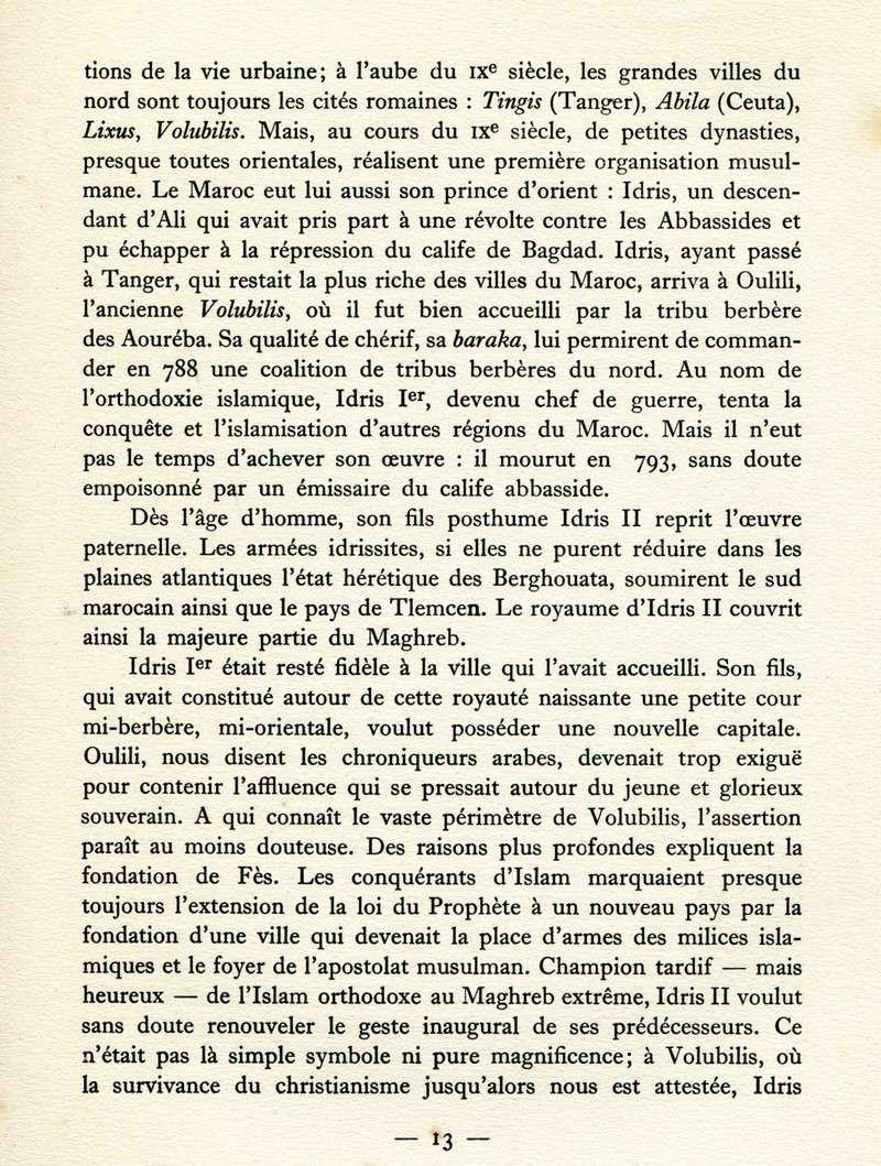 MAROC Villes Impériales Maroc346