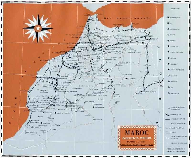L'Oeuvre de la France au Maroc de 1912 à 1950. - Page 5 Maroc359