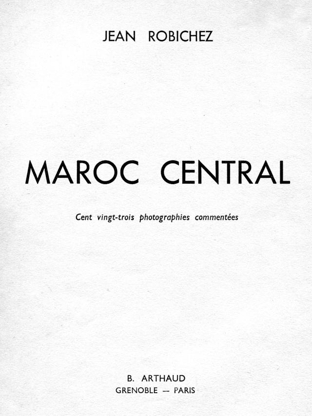 MAROC CENTRAL ( J. Robichez ) Maroc_11