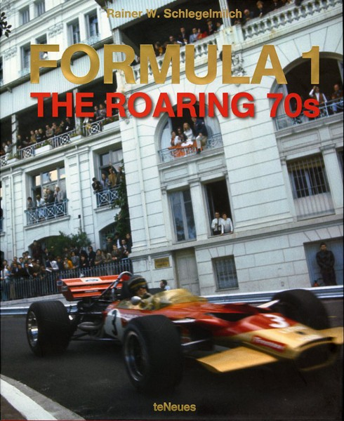 Formula 1 : the roaring 70's et Heuer Livre10