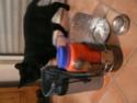Fabrication d'un réchaud multicombustible et d'une housse isotherme pour gourde Nalgene P1060825