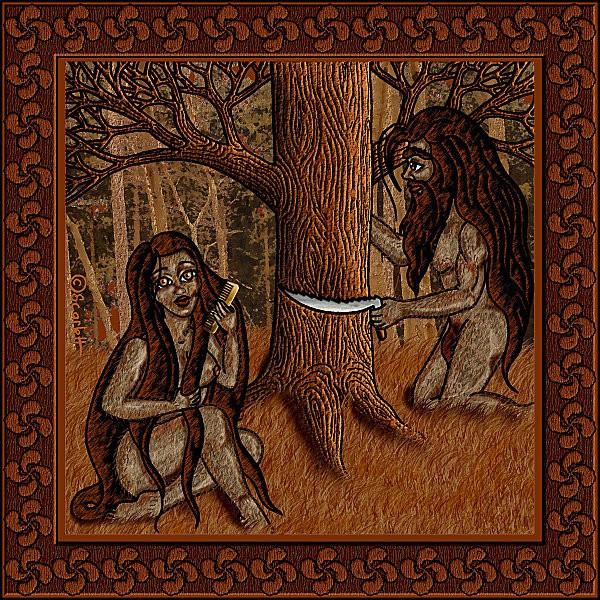 Mythologie Basque: LE BASAJAUN Basaja12