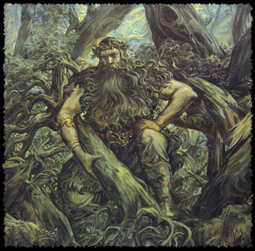 Mythologie Basque: LE BASAJAUN Tumblr10