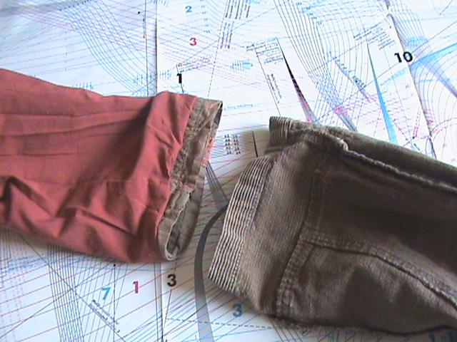 [TECHNIQUE DEBUTANT] [DOUBLURE]  doubler un pantalon Dsc08039