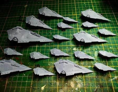 [ En cours de création ] Flotte Skaven w40k 27060810