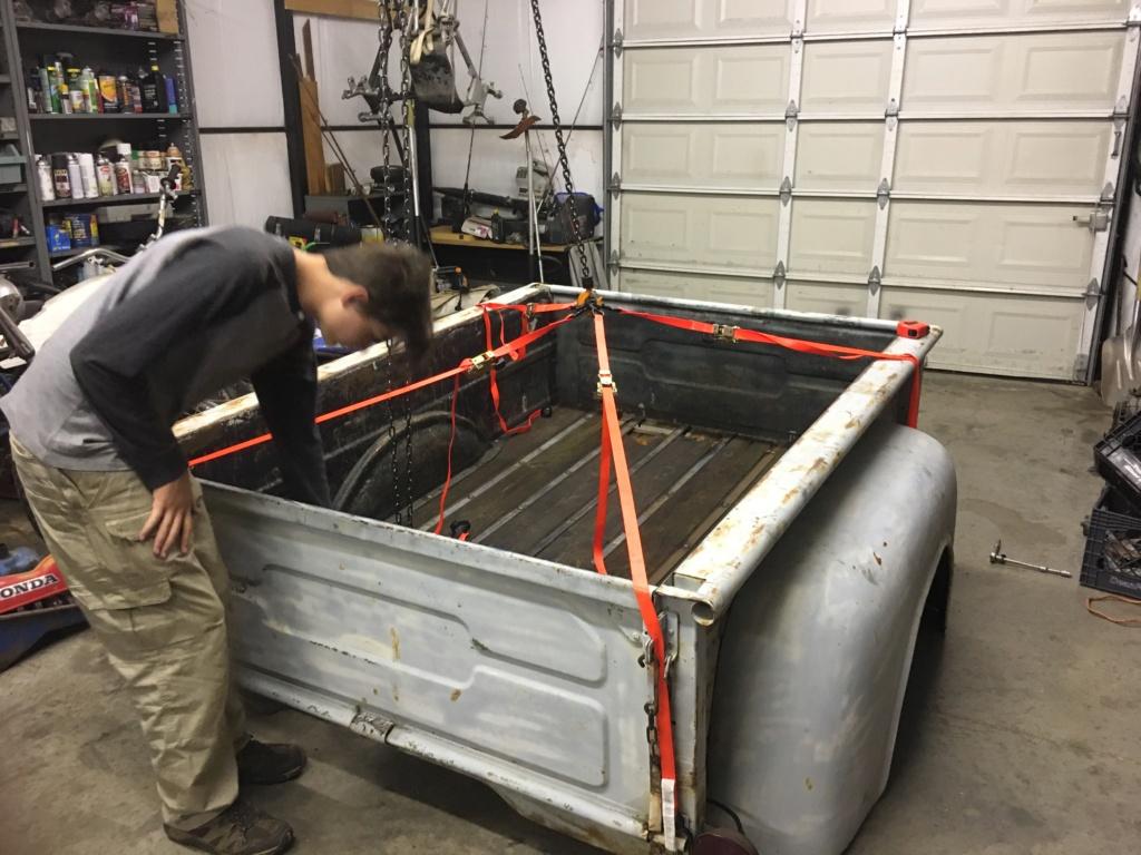 Bed Wood restoration  9f0ba710