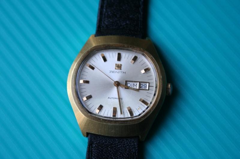 Post consacré aux montres bracelet vintage - Page 2 Zenith11