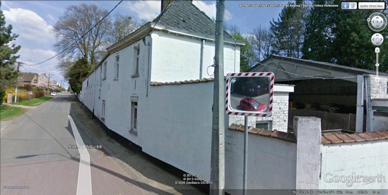 STREET VIEW : la Google car dans tous ses états ! - Page 7 Tubize14