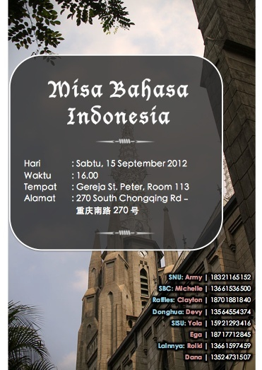 Misa Katolik Berbahasa Indonesia - 15 September 2012 Screen13