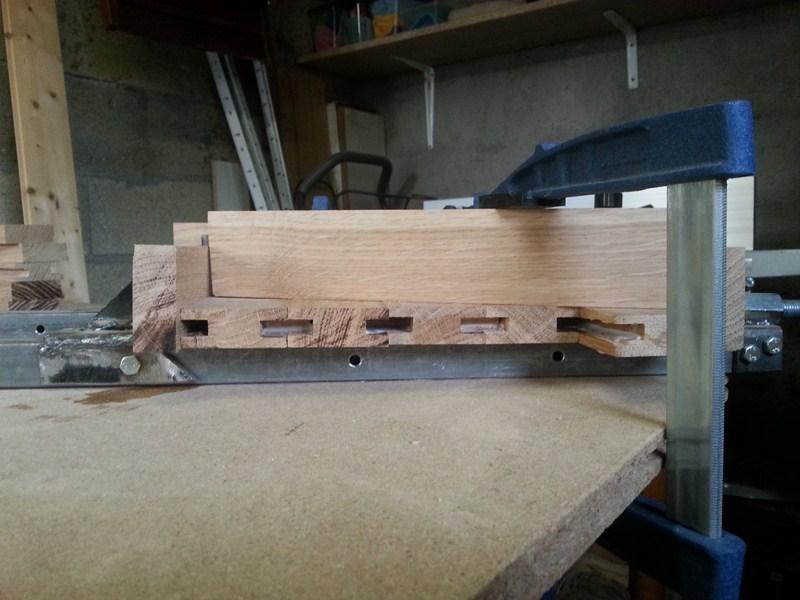 Table basse  de salon carrée  en chène  11800x10