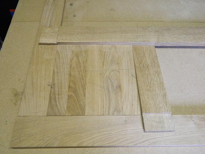 Table basse  de salon carrée  en chène  16_80010