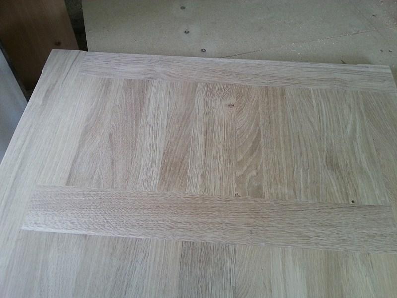 Table basse  de salon carrée  en chène  19bis_11
