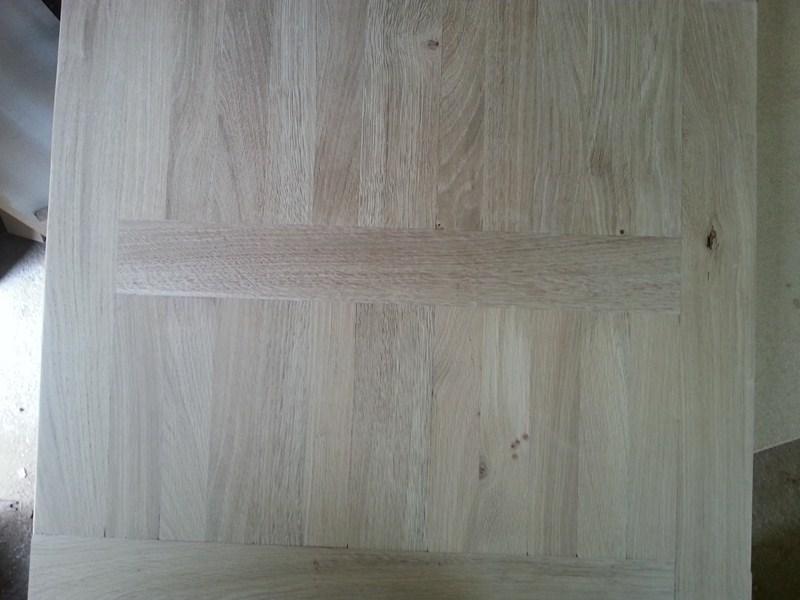 Table basse  de salon carrée  en chène  19ter810