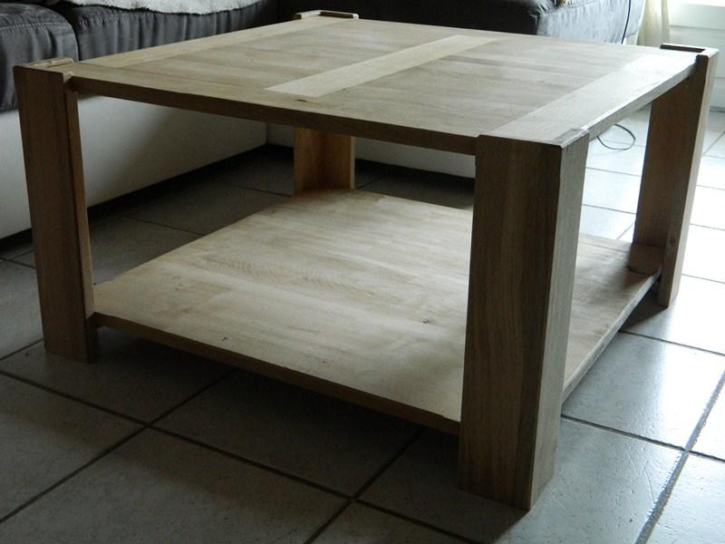 Table basse  de salon carrée  en chène  - Page 2 Dscn1310