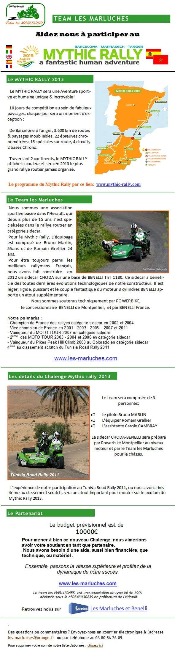 Le MYTHIC RALLY 2013 Mail11