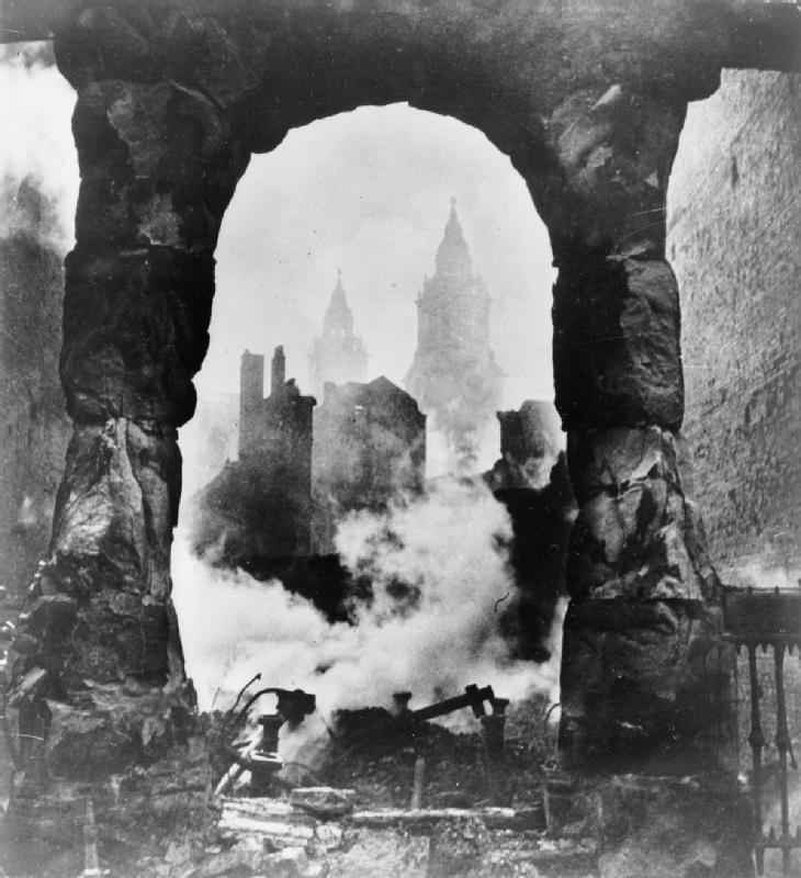 Cecil Beaton's war photography Stpaul10