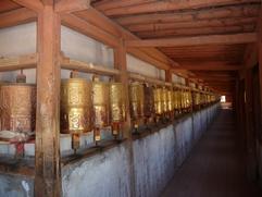 La Chine sac au dos (23) Aux confins du Gansu (甘肃) et du Qinghaï (青海), un bel aperçu  du Bouddhisme Tibétain 23-10-10
