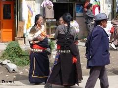 La Chine sac au dos (23) Aux confins du Gansu (甘肃) et du Qinghaï (青海), un bel aperçu  du Bouddhisme Tibétain 23-16-11