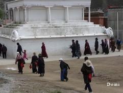 La Chine sac au dos (23) Aux confins du Gansu (甘肃) et du Qinghaï (青海), un bel aperçu  du Bouddhisme Tibétain 23-17-10