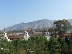 La Chine sac au dos (23) Aux confins du Gansu (甘肃) et du Qinghaï (青海), un bel aperçu  du Bouddhisme Tibétain 23-5-v10