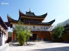La Chine sac au dos (23) Aux confins du Gansu (甘肃) et du Qinghaï (青海), un bel aperçu  du Bouddhisme Tibétain 23-8-w10