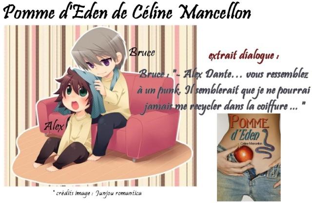 Pomme d'eden - décembre 2012 aux éditions Sharon Kena Pomme011
