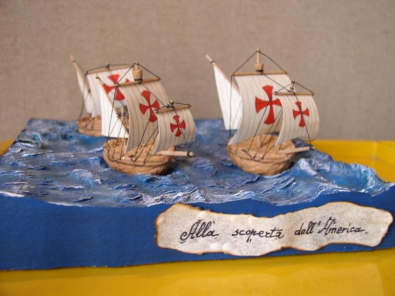 Galleria di SALVATORE ZAPPALA' (Le Barche di Salvo) - Pagina 4 Colomb10