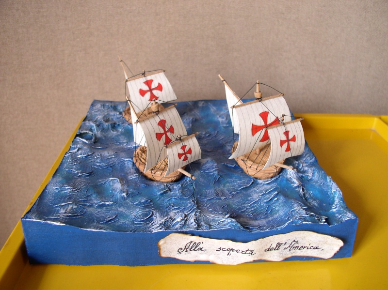 Galleria di SALVATORE ZAPPALA' (Le Barche di Salvo) - Pagina 4 Colomb11